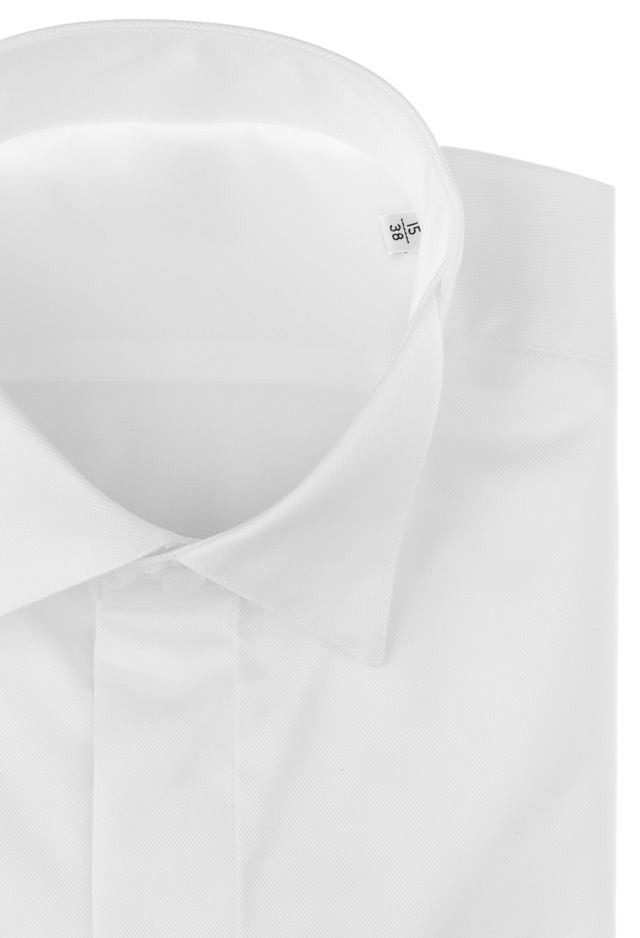 White wing collar formal shirt