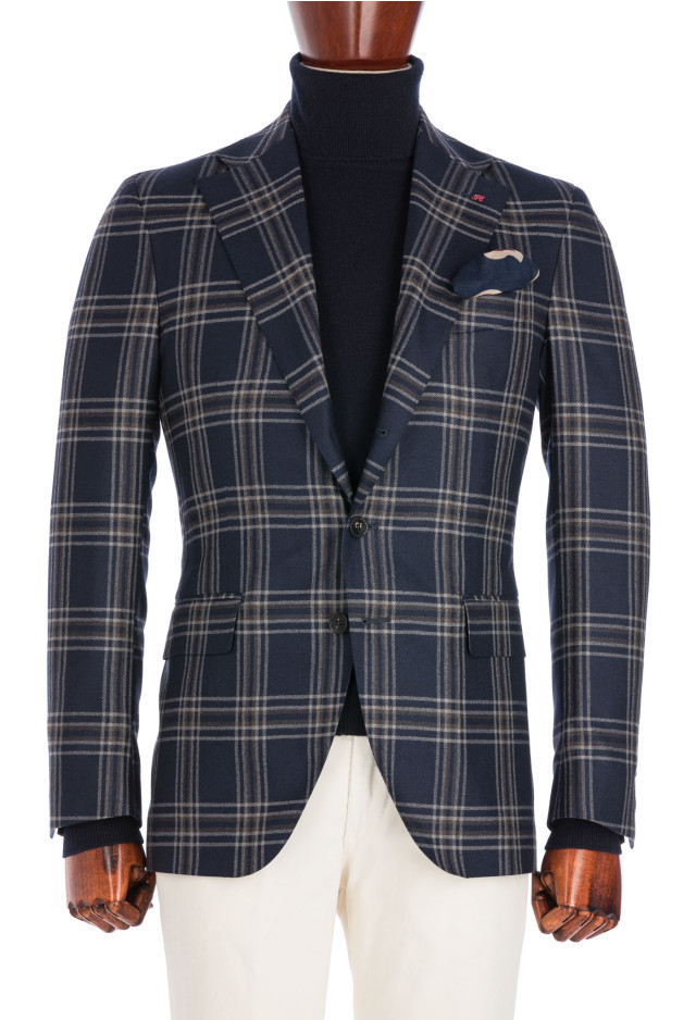 Blue Tartan Flannel Jacket