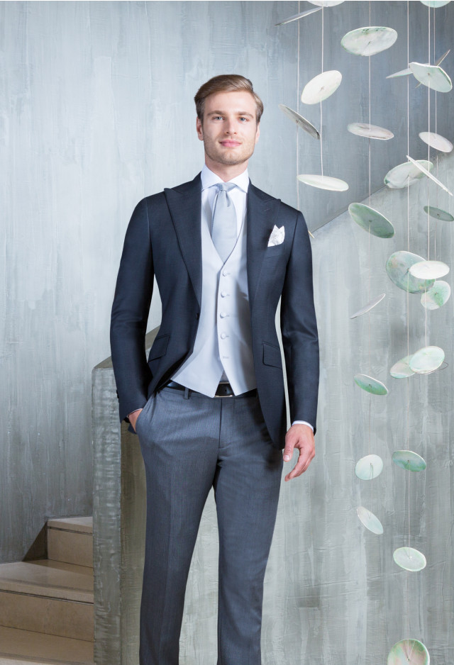 Grey Half morning suit