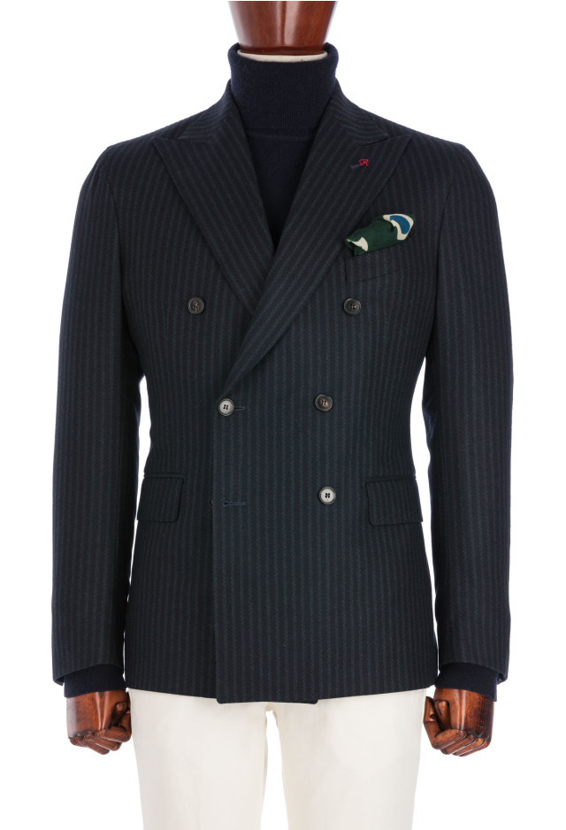 Black Watch Double-breasted Jacket