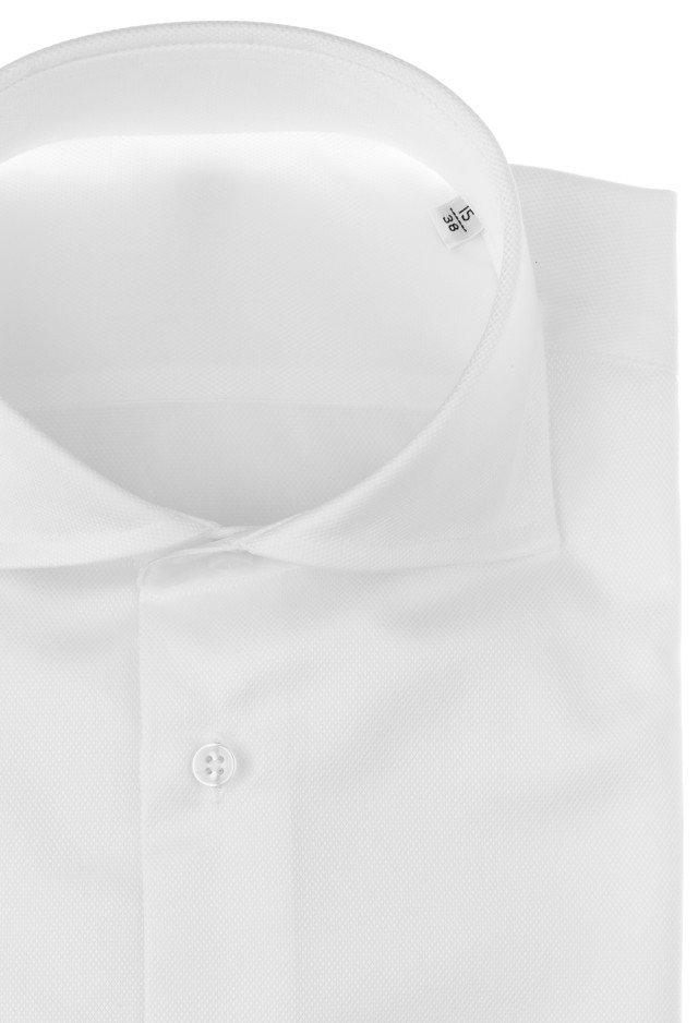 White Shirt with Squared french cuff