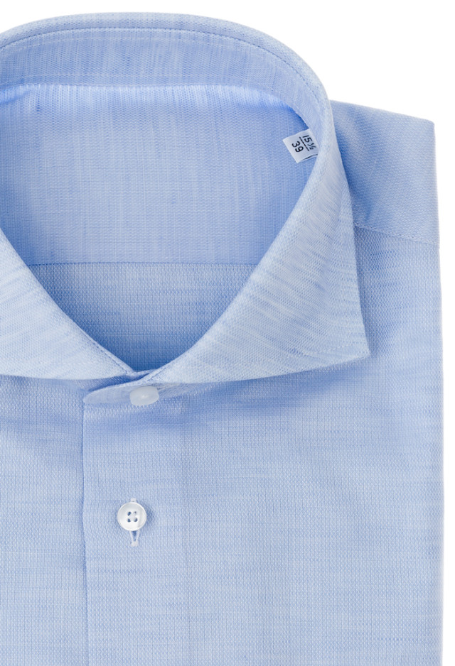 Light Blue shirt, Cotton-Linen