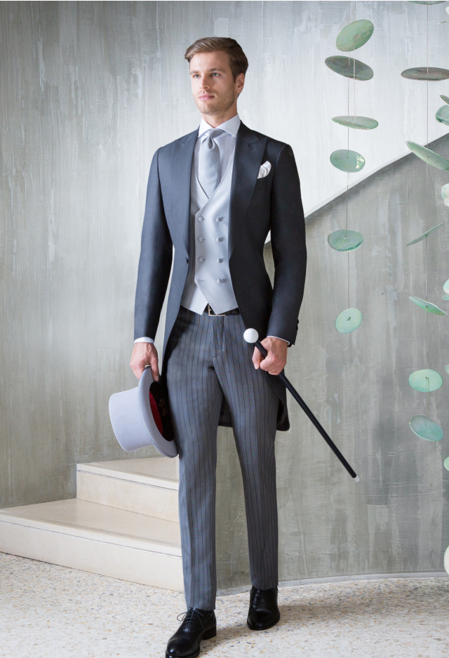 Grey Morning Suit