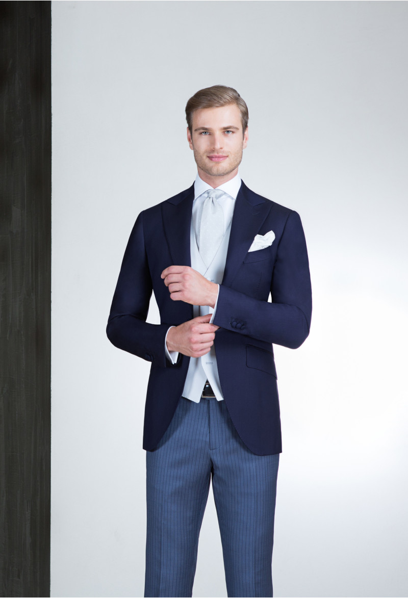 Blue Half Morning suit