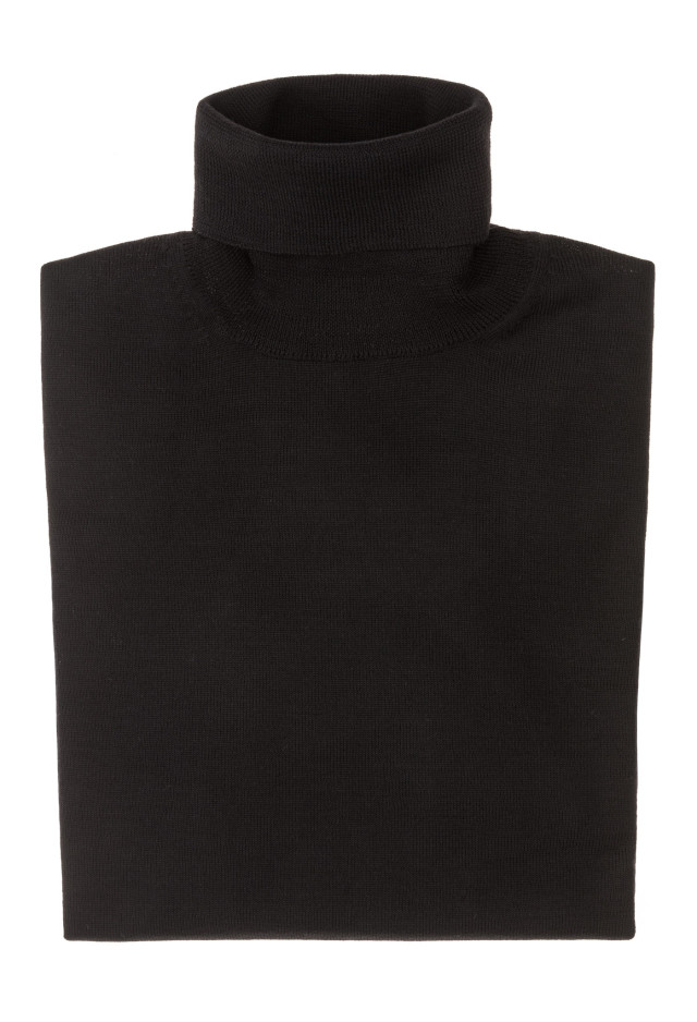 Black Turtleneck - Merinos Wool