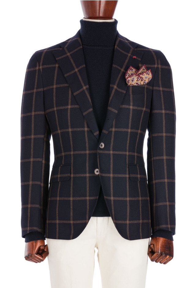 Blue Checked Jacket